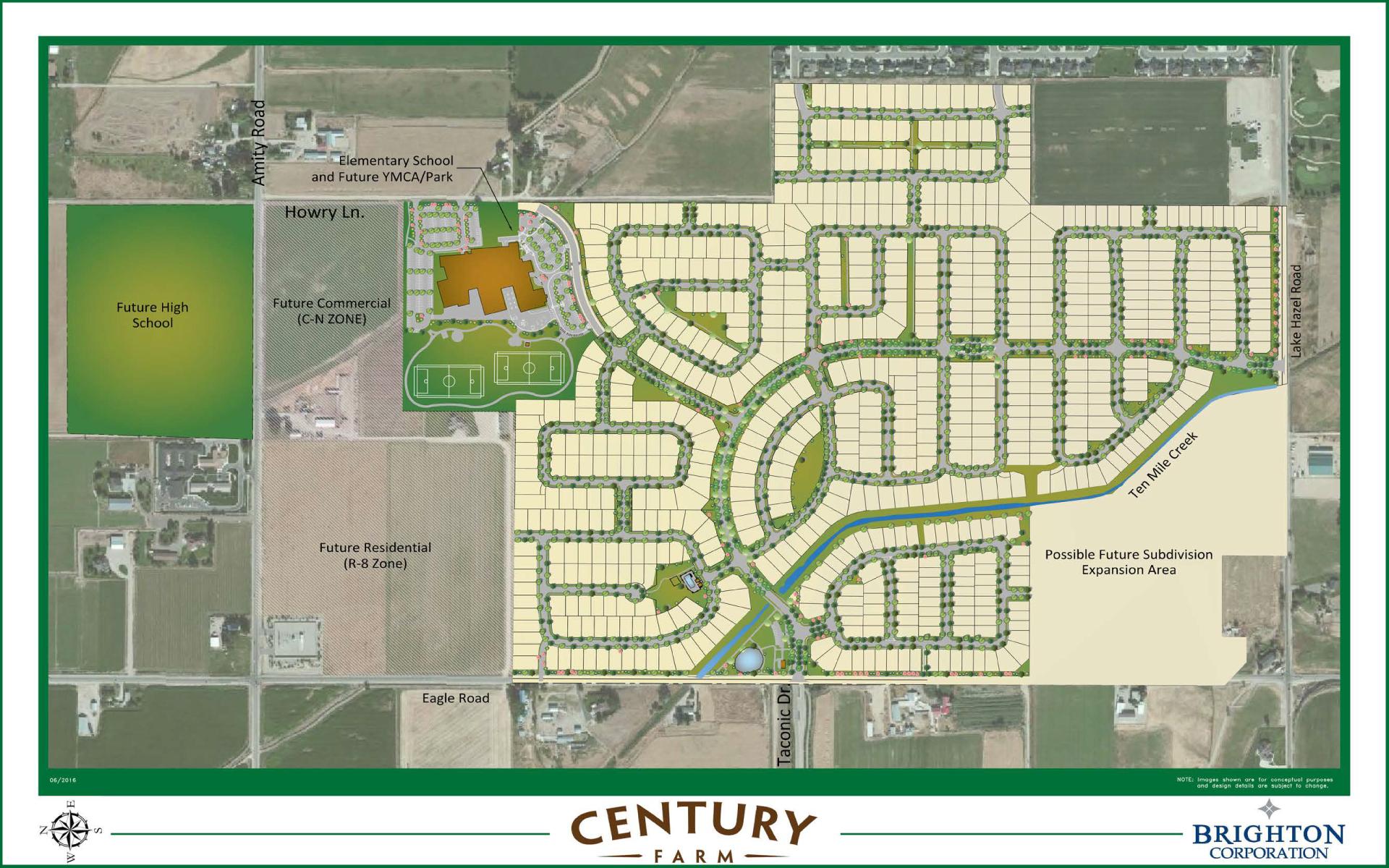 Century Farm Master Plan Brighton Corporation