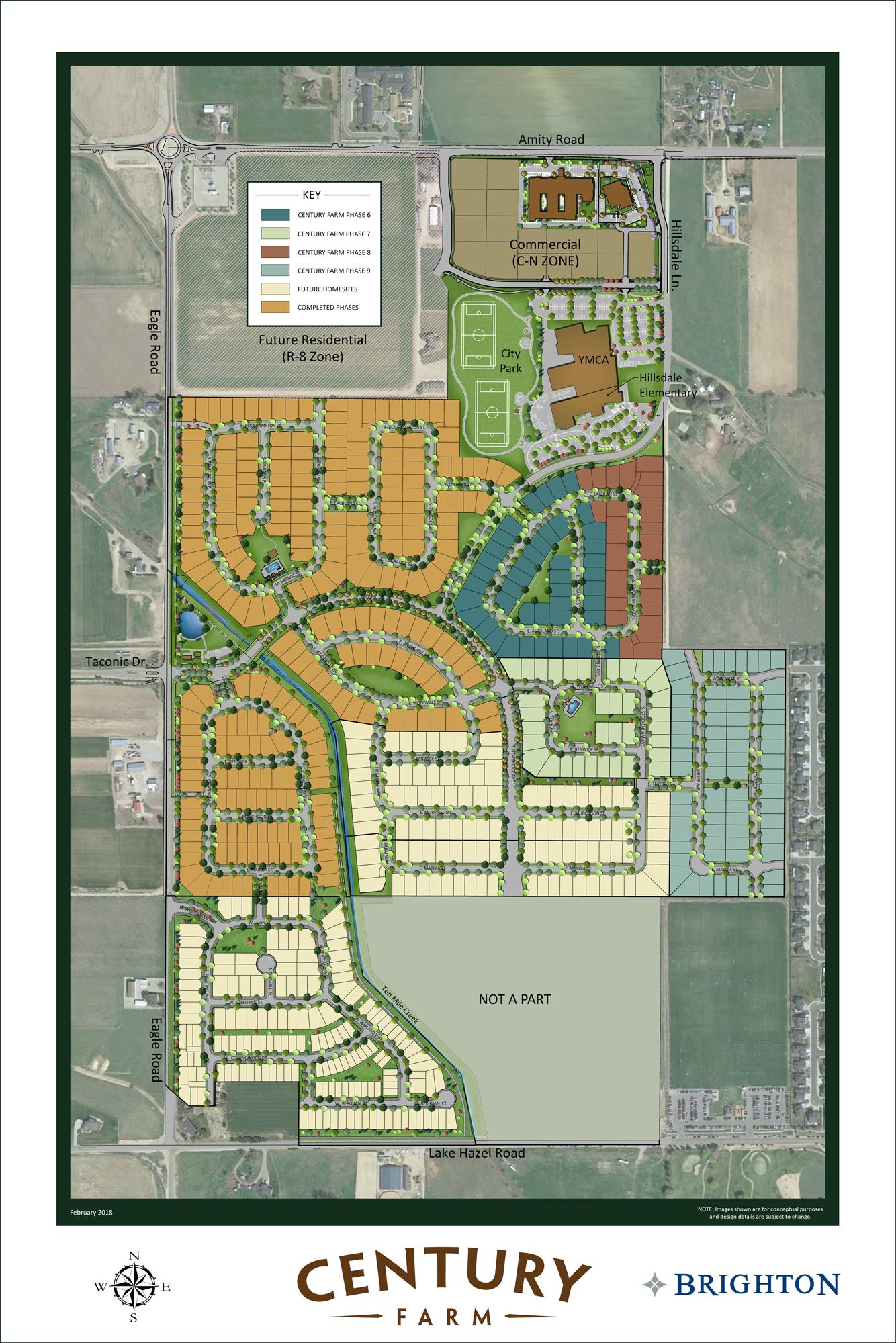 New Homes Meridian Idaho Century Farm